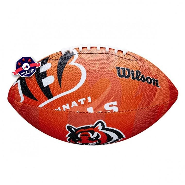 Ballon NFL Cincinnati Bengals - Taille Junior