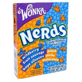 Nerds Baies sauvages & Pêches - Willy Wonka