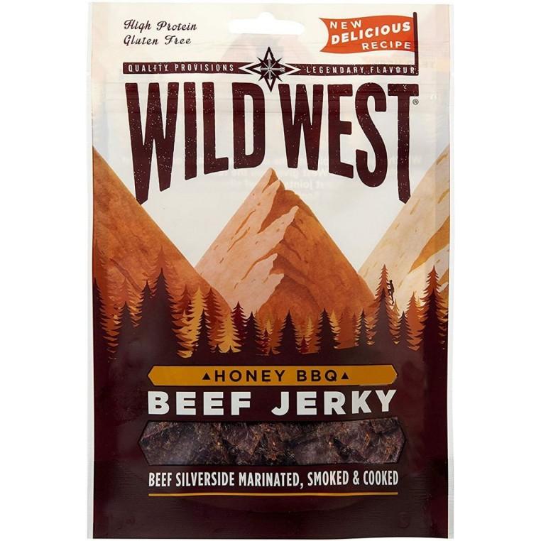 Beef Jerky - Honney BBQ - Wild West