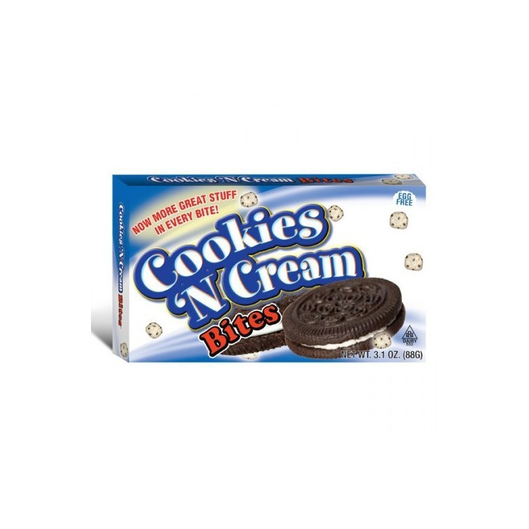 Cookie Dough Bites cookies and cream