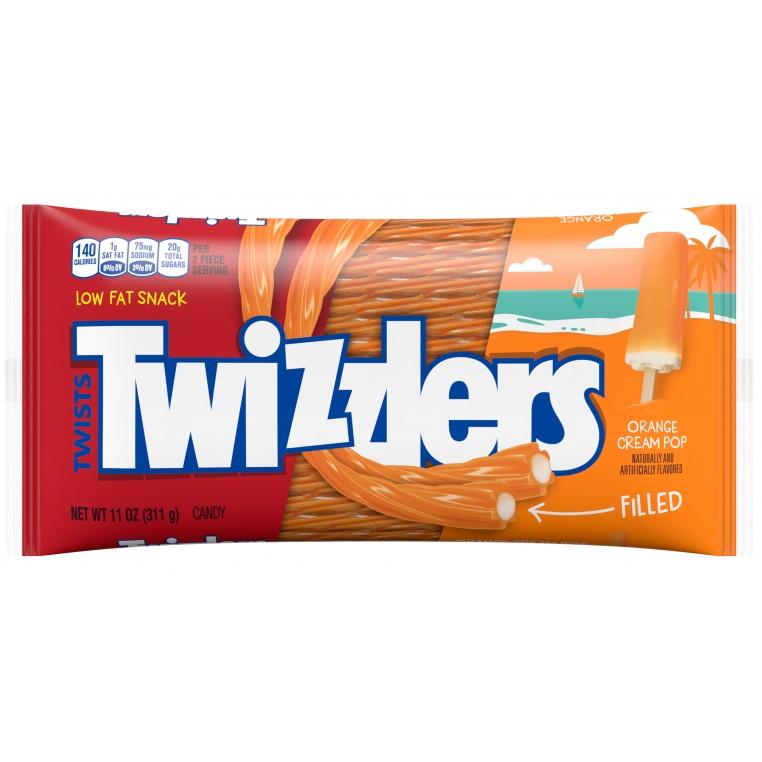 Twizzlers - Orange Cream Pop Filled Twists