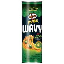 Pringles - Wavy Fire Roasted Jalapeno