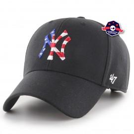 Casquette - New York Yankees Flag Fill - Black