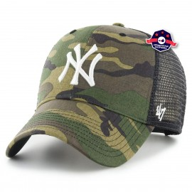 Casquette Trucker - New York Yankees - Camouflage