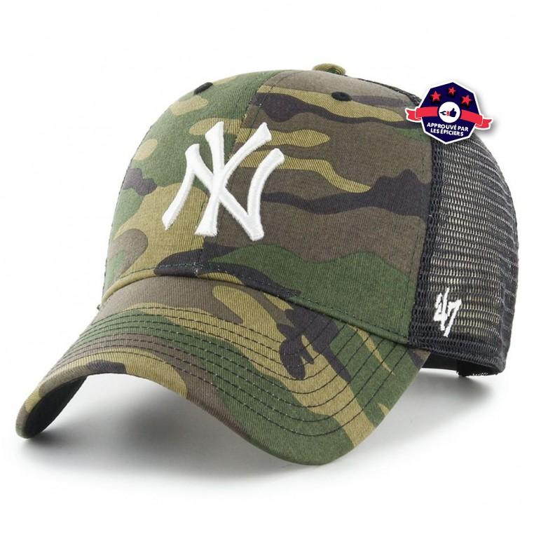 Trucker New York Yankees Camo