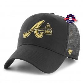 Casquette Trucker - Atlanta Braves - Black