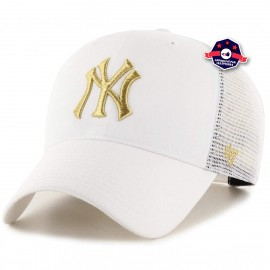 Casquette Trucker - New York Yankees - Blanche