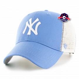 Casquette Trucker - New York Yankees - Bleu Pastel
