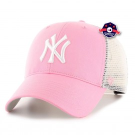 Casquette Trucker - New York Yankees - Rose