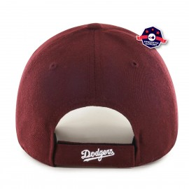 Casquette Los Angeles Dodgers Mvp Dark Maroon