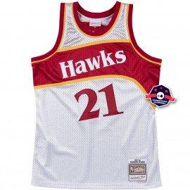 Maillot Platinum NBA - Dominique Wilkins - Atlanta Hawks