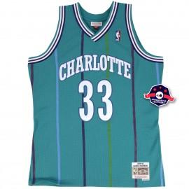 Maillot NBA - Alonzo Mourning - Charlotte Hornets
