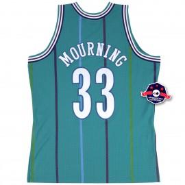 Jersey - Alonzo Mourning - Charlotte Hornets