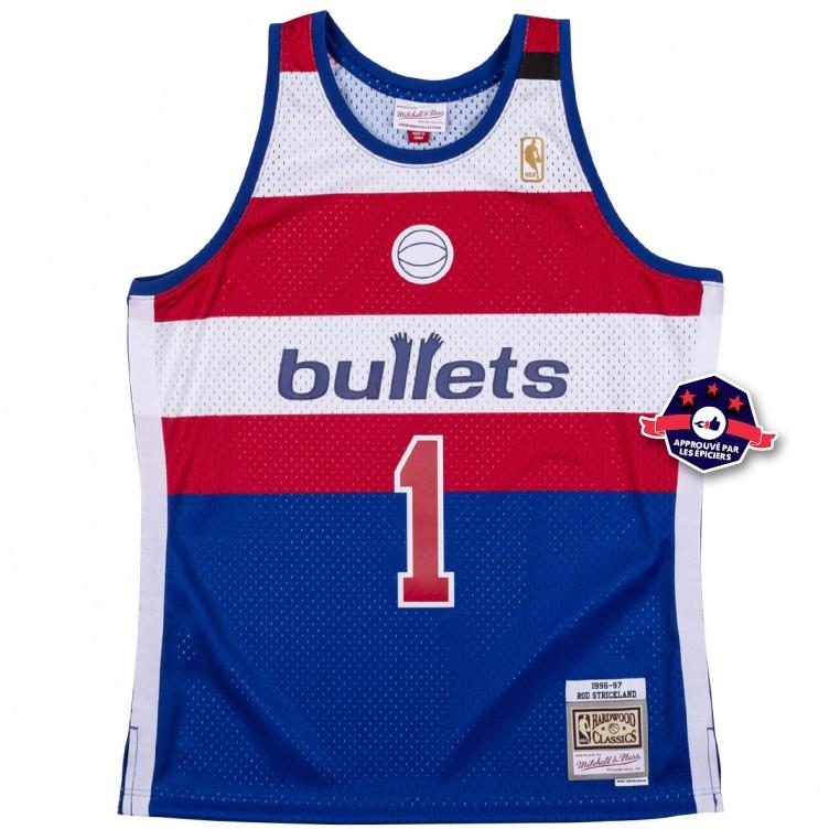 Jersey - Washington Bullets 1996-97 Rod Strickland