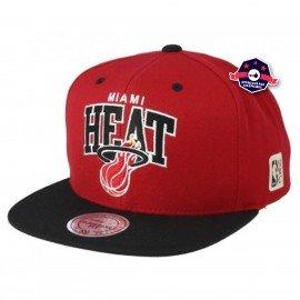 Snapback - Miami Heat - Mitchell & Ness