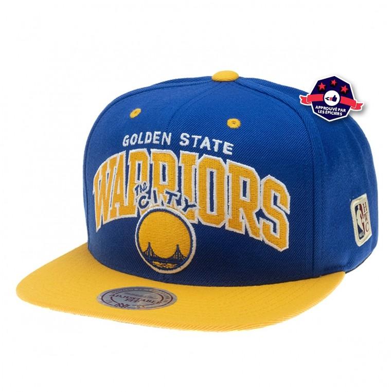 Snapback - Golden State Warriors - Mitchell & Ness