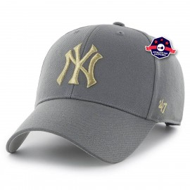 Casquette - New York Yankees Metallic Snap - Charcoal
