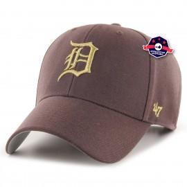 Casquette - Detroit Tigers Metallic - Brown