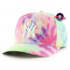 Casquette - New York Yankees - Tie Dye White