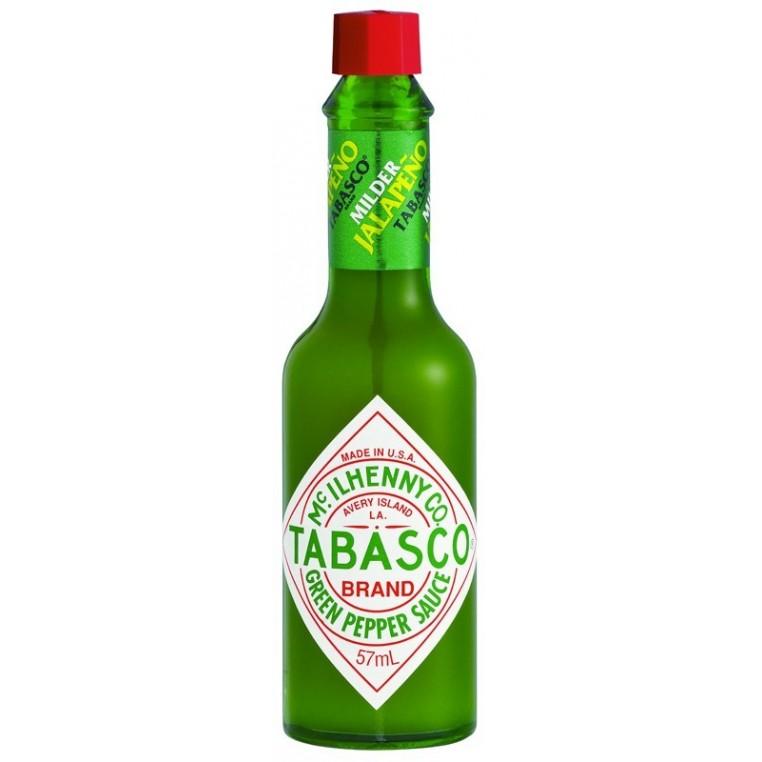 Tabasco vert au piment Jalapeno  - 57ml