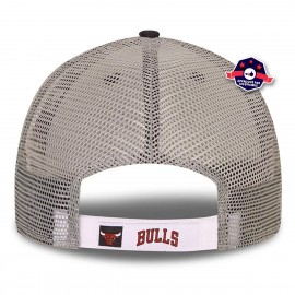 casquette trucker officielle 9FORTY New Era Chicago Bulls Home Field