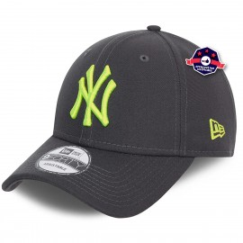 9Forty - New York Yankees - Neon Pack - gris et jaune