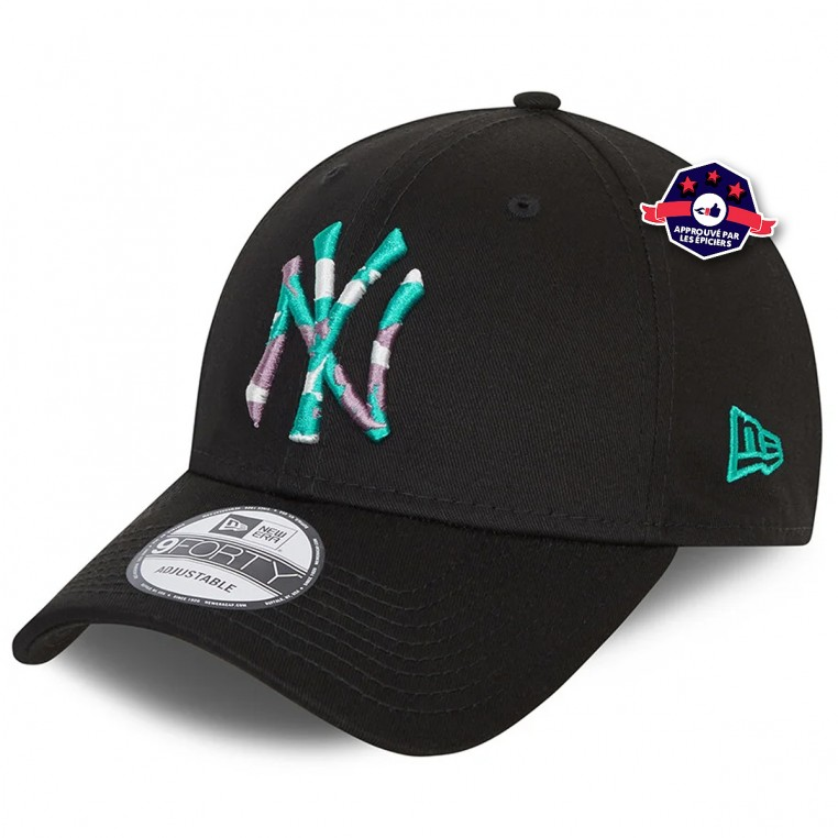 New Era 9FORTY Infill des New York Yankees noire