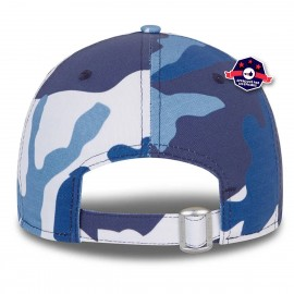 9FORTY Camo Pack bleu marine ajustable des Yankees