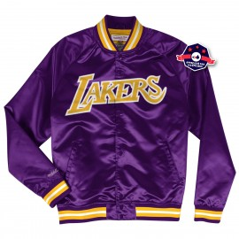 Veste en Satin - Los Angeles Lakers - Mitchell and Ness