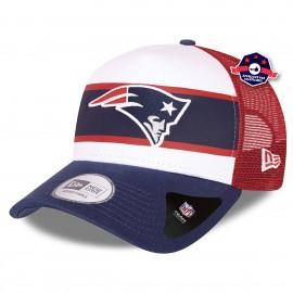 9Forty A Frame - New England Patriots - Retro Trucker
