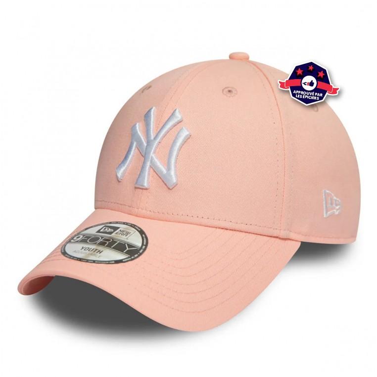 9FORTY des New York Yankees en rose pour enfant