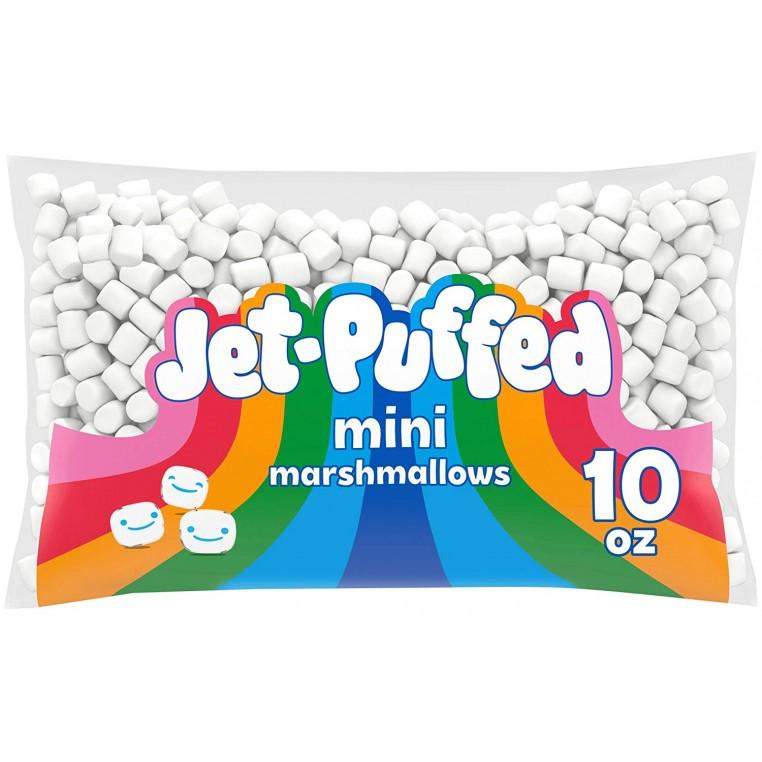 kraft jet puff mini marshmallow 10oz 297g