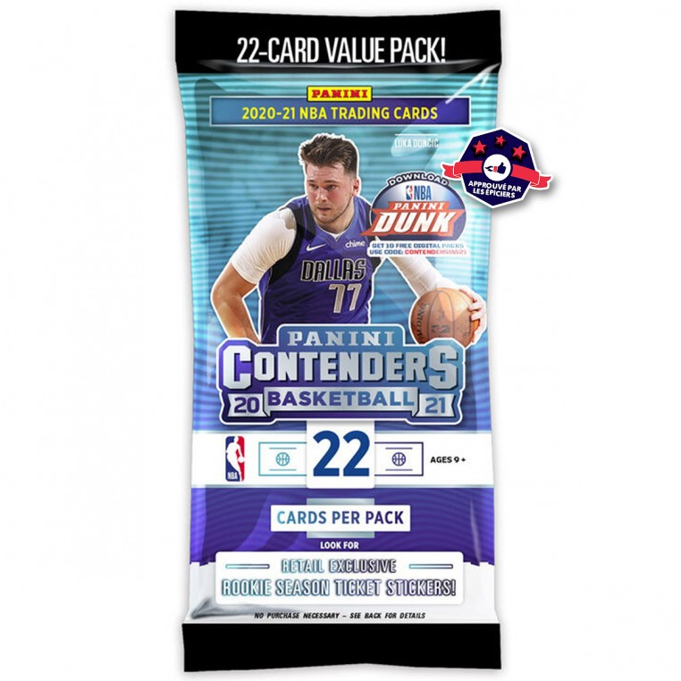 Pack Trading Cards - Contenders 2020-21 - Panini