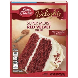 Mix pour Red Velvet Cake - Betty Crocker - Super Moist