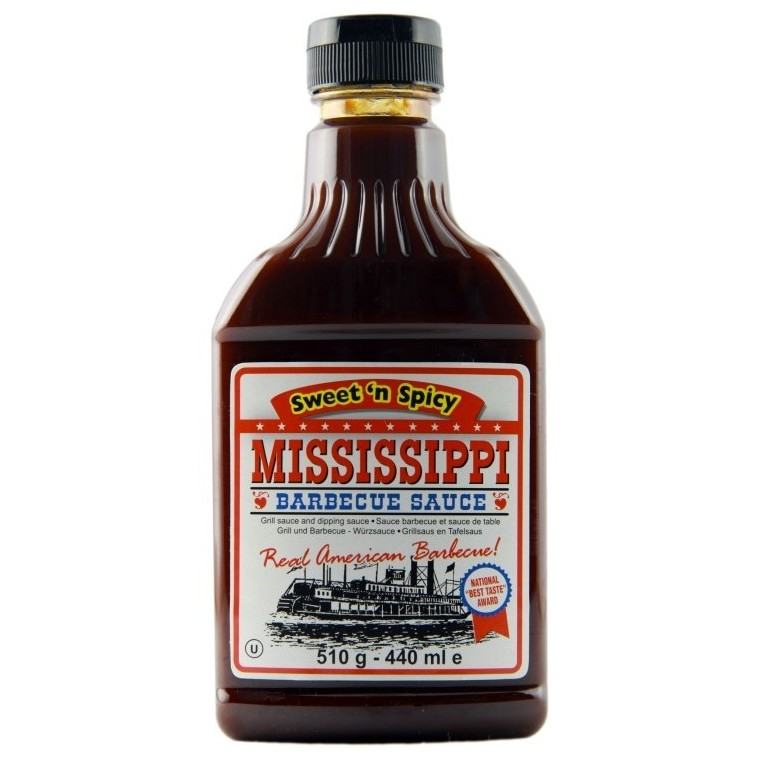 Mississippi BBQ sauce Sweet and Spicy