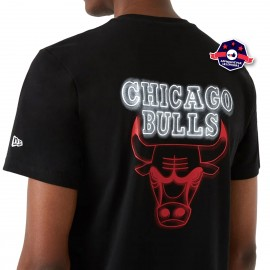 "T-shirt ""Néon"" - Chicago Bulls - New Era"