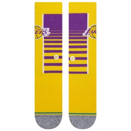 """Chaussettes - Los Angeles Lakers - """"HardWood Classic"""" - Stance"""