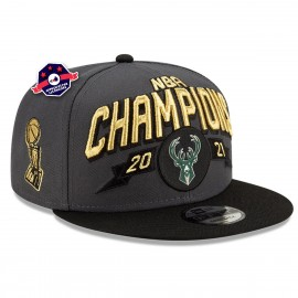 Casquette - Milwaukee Bucks - Champions NBA 2021