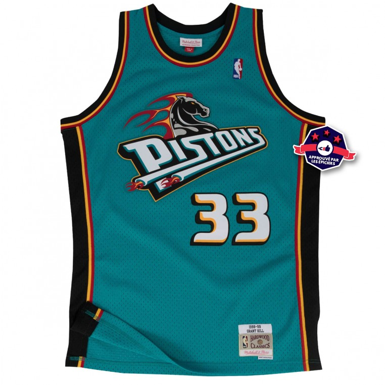 Maillot NBA - Grant Hill - Detroit Pistons