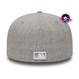 Casquette New Era - New York Yankees - 5950 - Gris Chiné