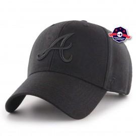 Casquette 47' - Atlanta Braves - Black on Black
