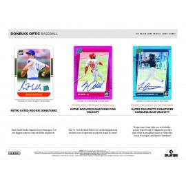 Pack Trading Cards MLB - Donruss Optic 2021 (Hobby Box) - Panini
