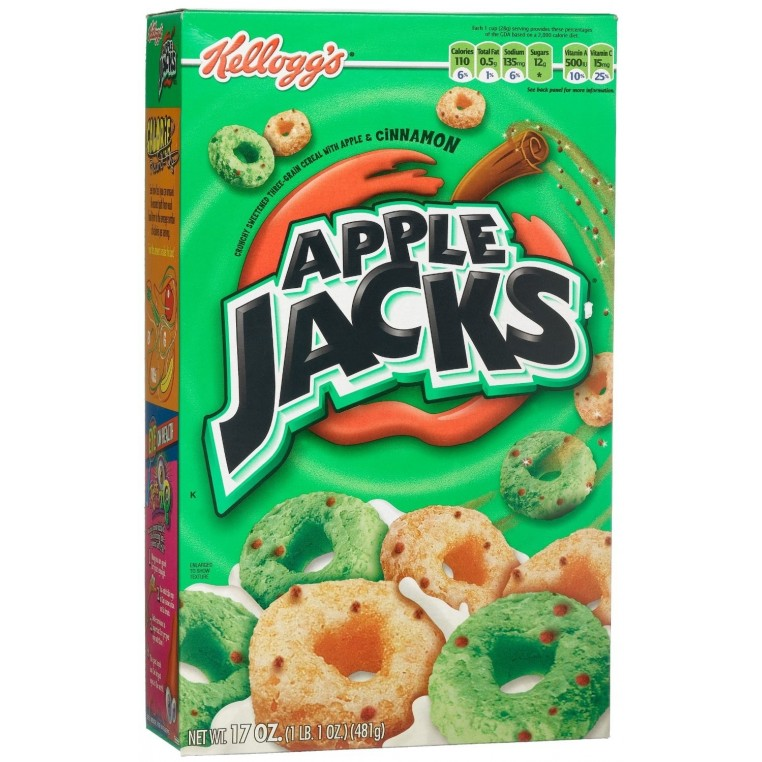 Céréales Apple Jacks de Kellogs