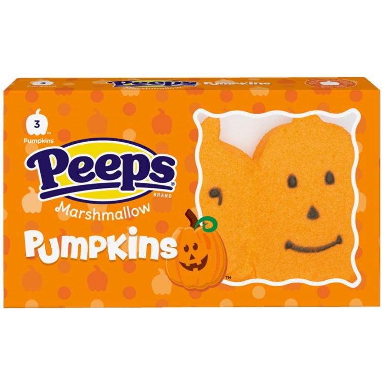 Peeps - Marshmallow Pumpkins Halloween - 42g