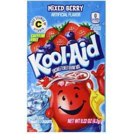 Sachet de Kool Aid Mixed Berry