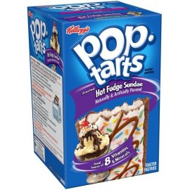Pop Tarts Caramel / Sundae - Hot Fudge Sundae