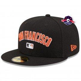 Casquette 59FIFTY - San Francisco - Team Black