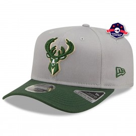 Casquette 9Fifty - Milwaukee Bucks - Tonal Grey