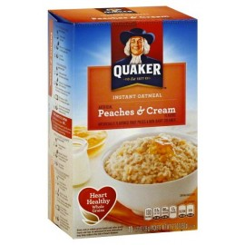 Céréales Quaker Oatmeal Peaches & Cream