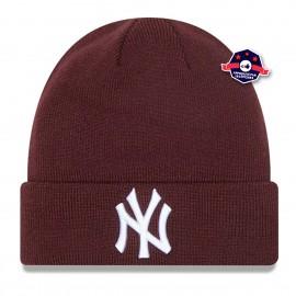 Bonnet New York Yankees - League Essential - Marron - New Era